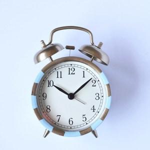 Ikea Striped Clock, Delineateyourdwelling.com