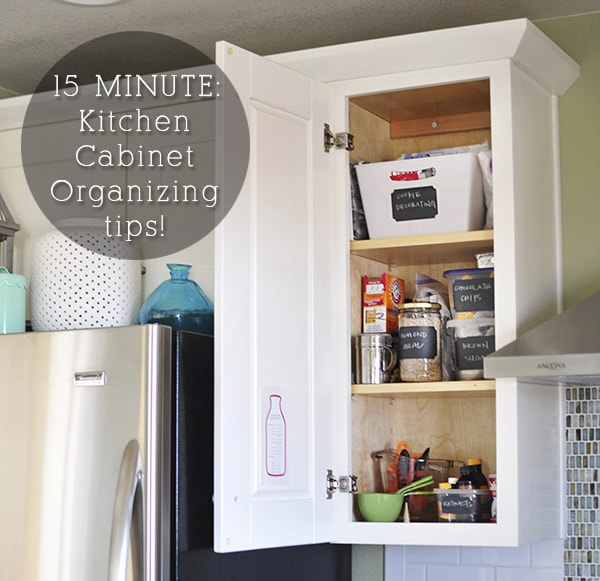 Organize And Arrange Your Kitchen Cabinets And Drawers
