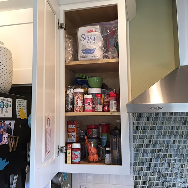 Kitchen Cabinet BEFORE