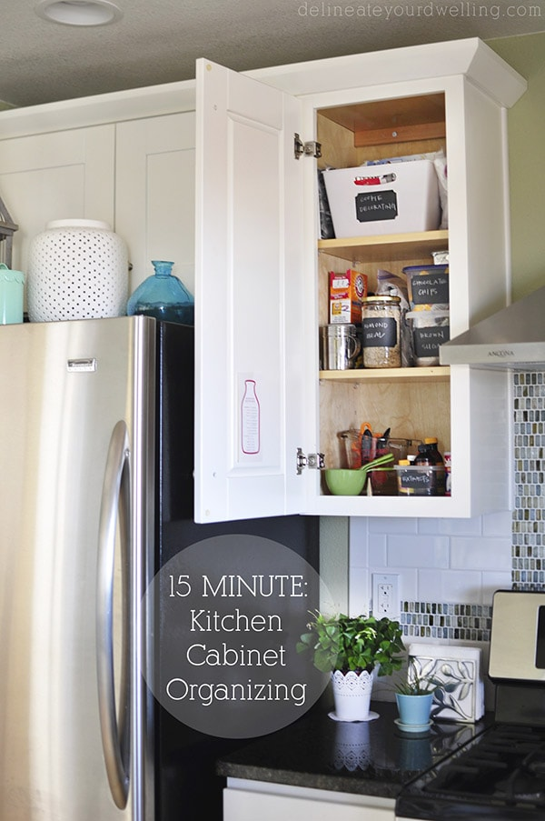 Organize and arrange your kitchen cabinets and drawers Organizing kitchen cabinets