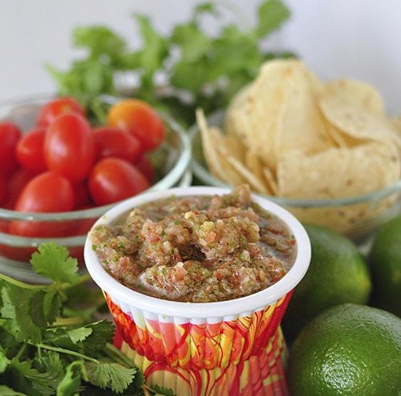 Fresh Homemade Salsa, Delineateyourdwelling.com
