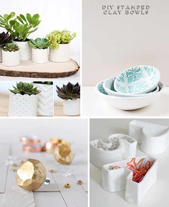 12 Air Dry Clay Projects, Delineateyourdwelling.com