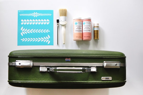Easy Painted Luggage supplies