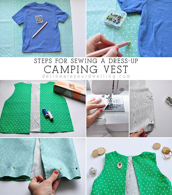 Dress-up Camping Vest steps