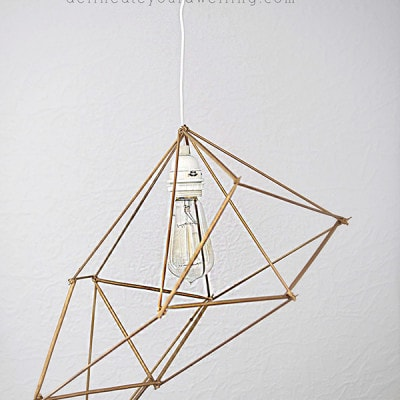 Geometric Pendant Lamp, Delineateyourdwelling.com