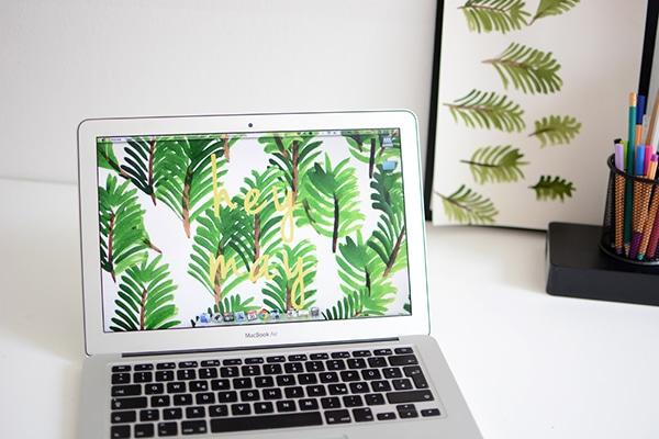 Pflanzen-Wallpaper-Mai