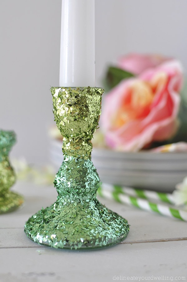 Two Toned Candle Holder