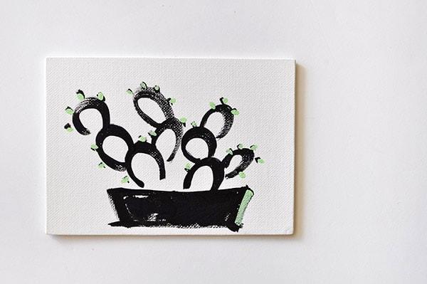 Art, Simple Succulents
