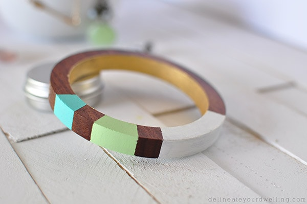 Painted Wooden Bracelet final