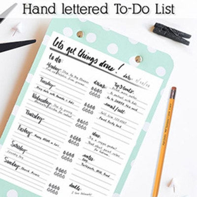 1 To-Do List Clipboard