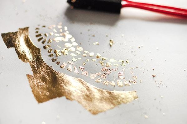 Gold Foil Doily Art2