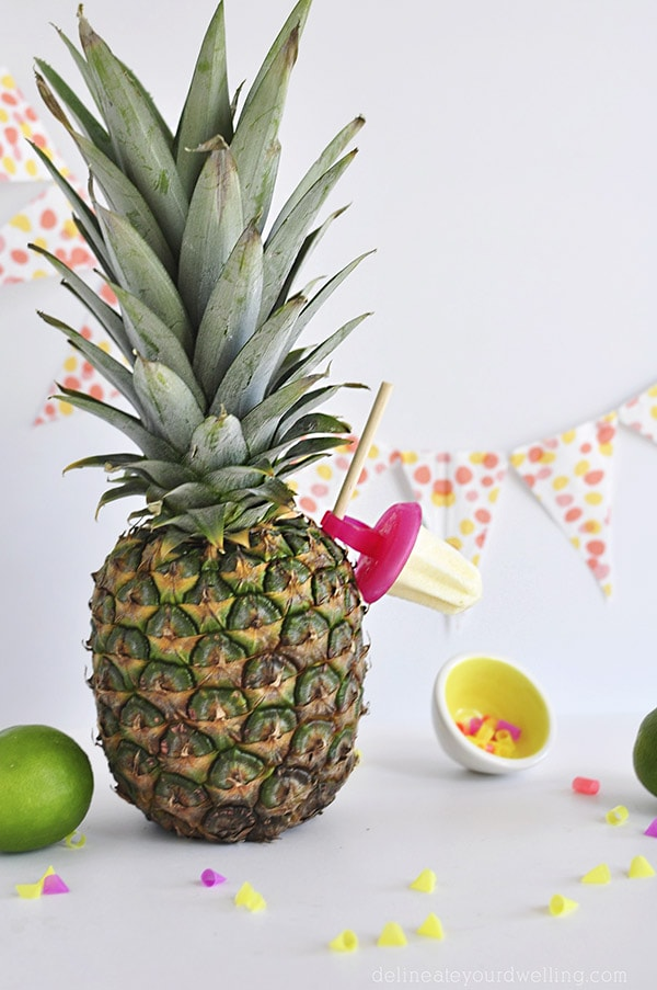 Whipped Pineapple Popsicle Ringpops, Delineateyourdwelling.com