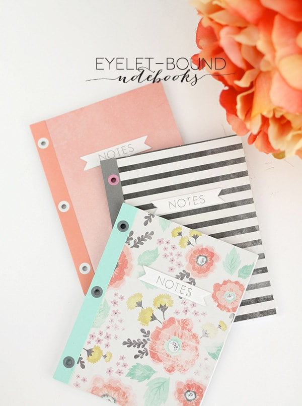 eyelet bound notebooks, FeatureFriday