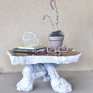 1 Tree Stump Table