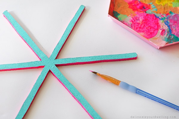 Creative Asterisk Cork Board steps