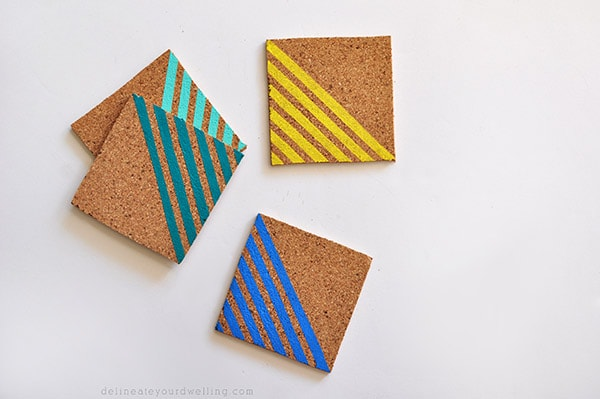 Striped Coasters