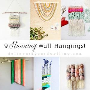 1 9 Wall Hangings Roundup