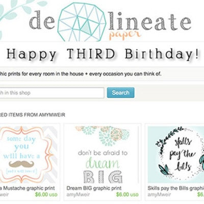 1 Delineate ETSY bday intro