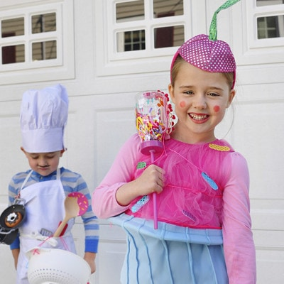 Easy Baker + Cupcake Store Bought Halloween Costumes