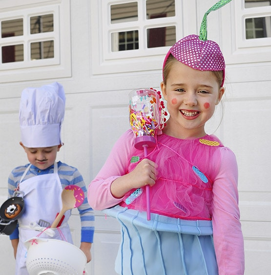easy baker cupcake store bought halloween costumes - Halloween Supply Store