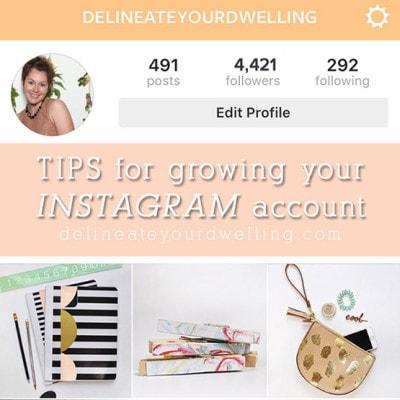1 Instagram Growing Tips