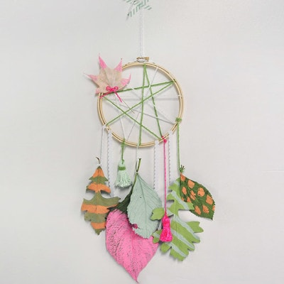 1 Leaf Dream Catcher