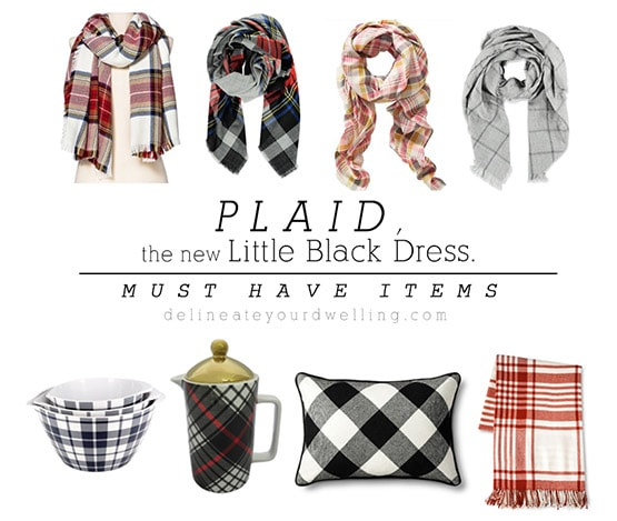 1 Must Have Plaid Items
