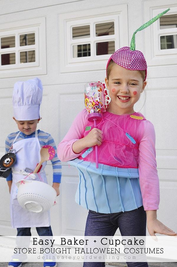 Baker-Cupcake Halloween Kid Costume, Delineateyourdwelling.com