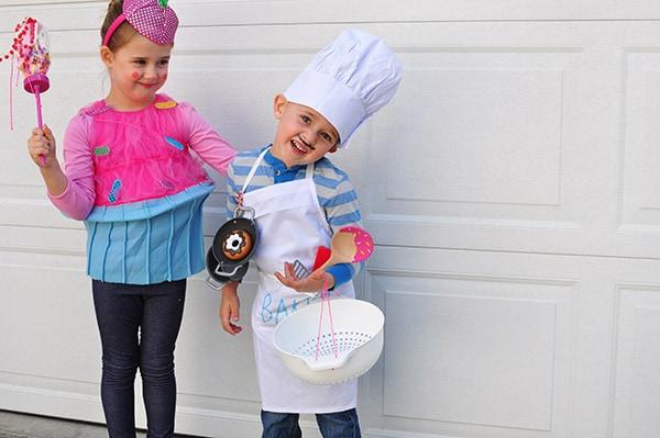 Baker-Cupcake Halloween Costumes