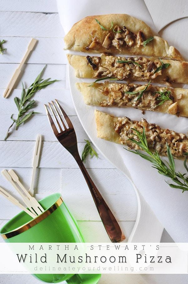 Wild Mushroom Pizza Recipe, Delineateyourdwelling.com