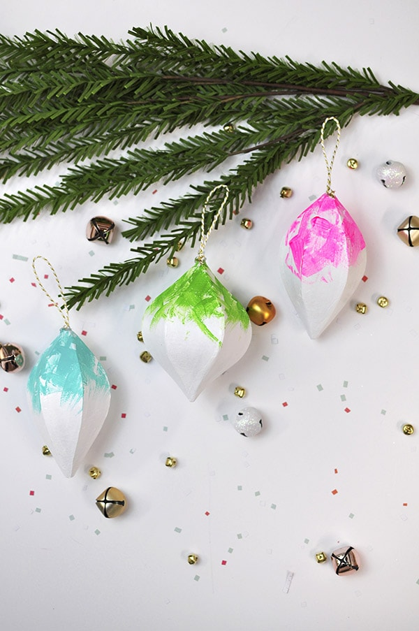 Colorful Christmas Ornaments