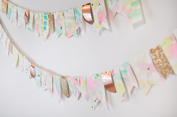 Watercolor Garland Party