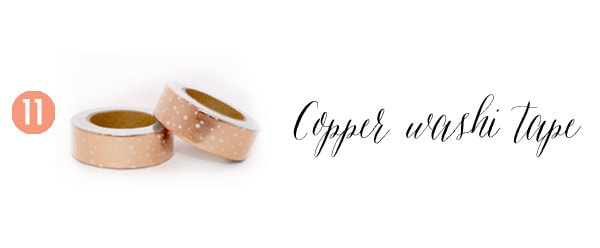 11 Copper Tape Creative Gift Guide