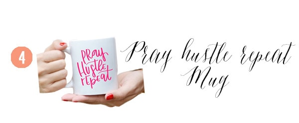 4 Pray Mug, Creative Gift Guide