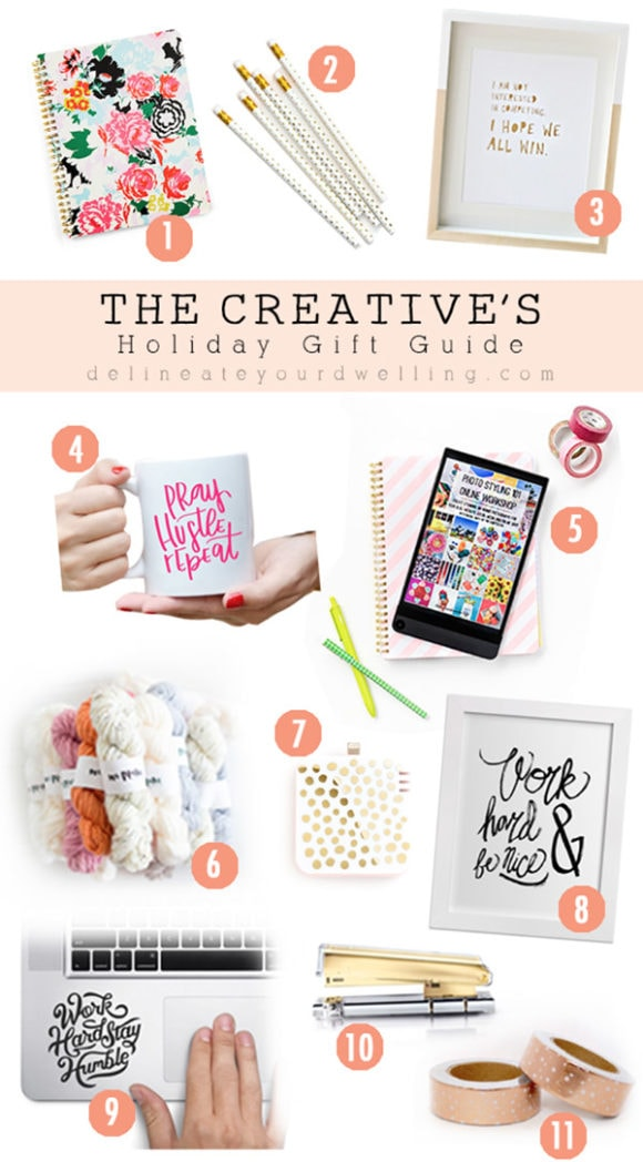 Creatives Gift Guide, Delineateyourdwelling.com