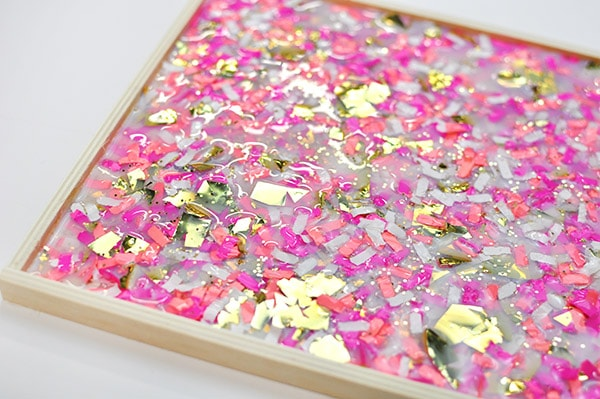 DIY Confetti Tray 3d magic