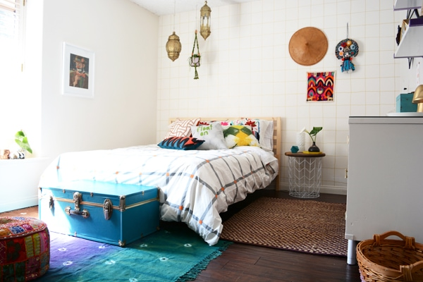 Global Eclectic Bedroom Feature Friday