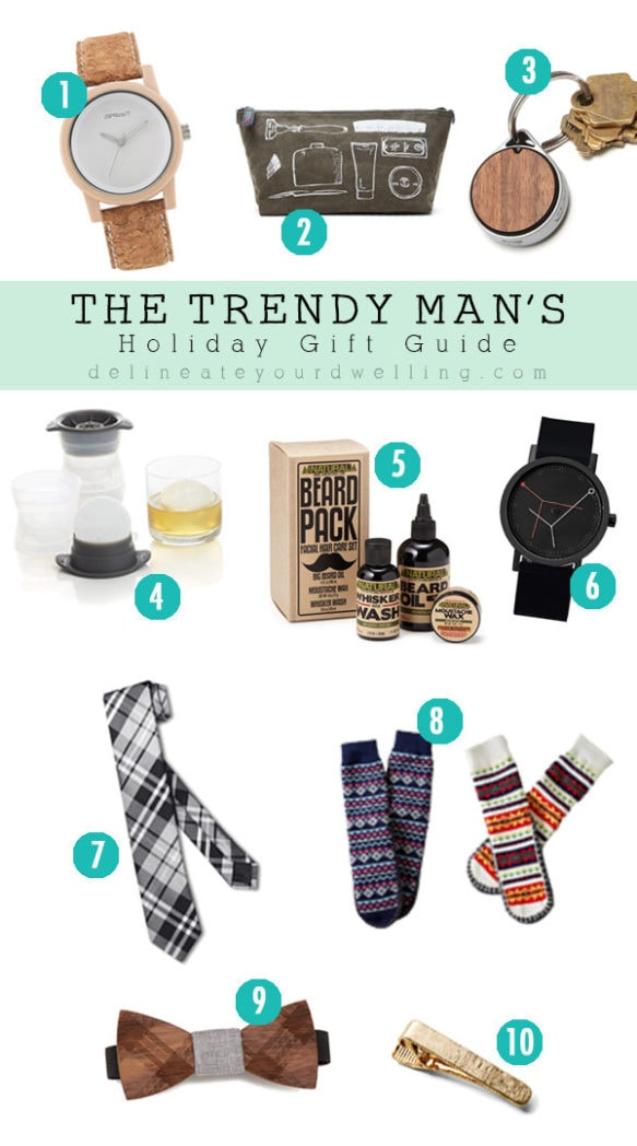 Trendy Man Christmas Gift Guide, Delineateyourdwelling.com