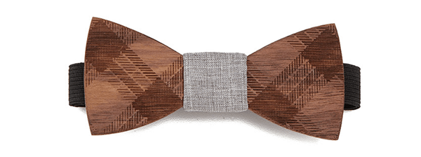 Trendy Man Gift Wooden Bowtie
