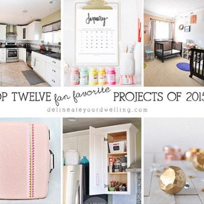 Top Twelve Fan Favorite Projects of 2015