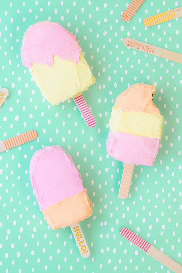 Popsicle-Cakes