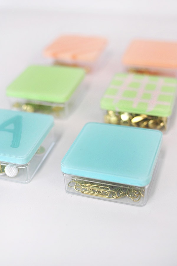 Easy Painted Acrylic Boxes