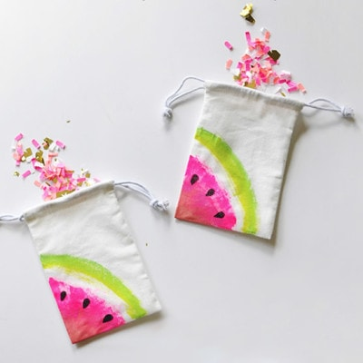 1 Mini Watermelon Bags