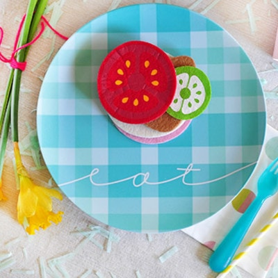 1a Spring Picnic Plate