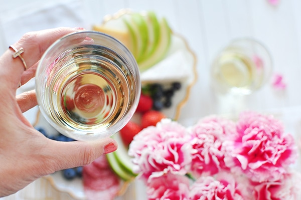 Springtime Wine with Friends, Delineate Your Dwelling
