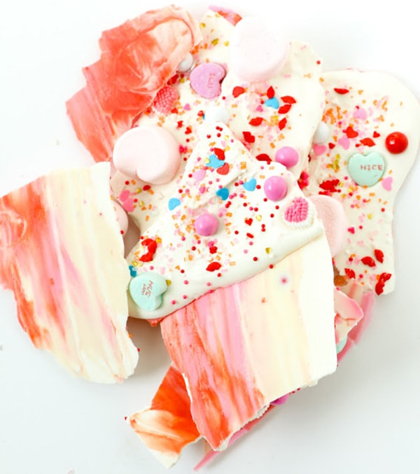 valentine bark, Chocolate Bark Recipe