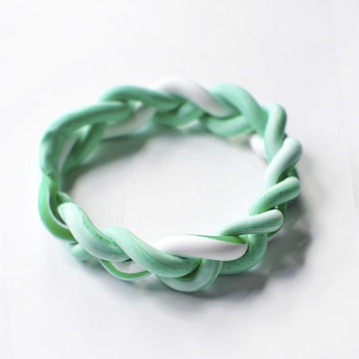 1 DIY Clay Braided Bracelet2