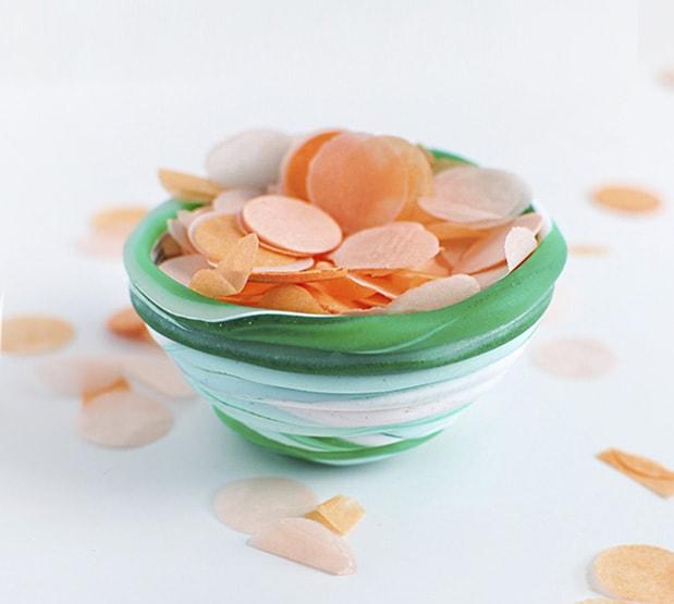 1 DIY Mini Coiled Clay Bowl
