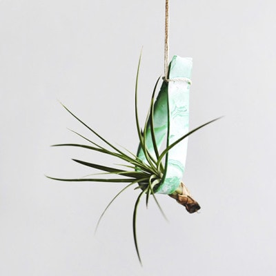 1 Hanging Clay Plant Holder