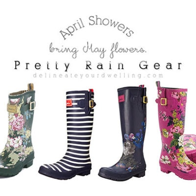 Pretty Rain Gear
